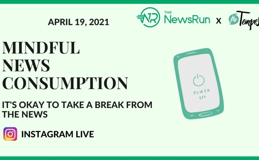 Joint Event: Mindful news consumption – It's okay to take a break from the news