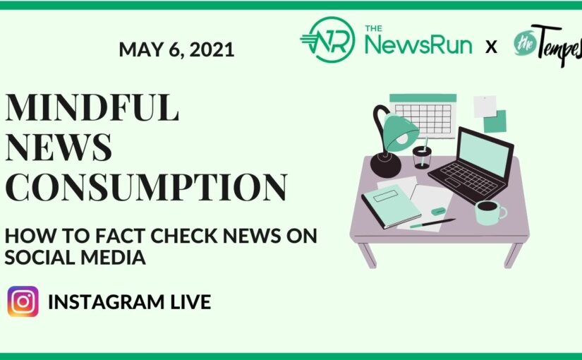 Joint Event: Mindful news consumption – How to fact check news on social media