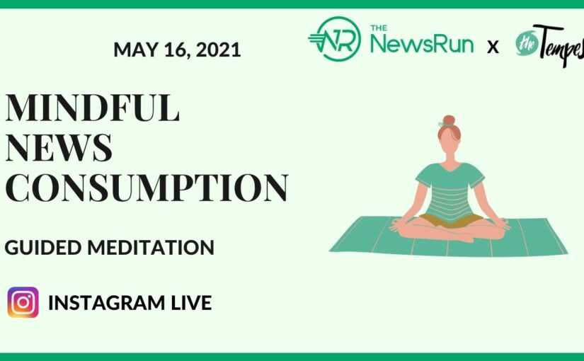 Joint Event: Mindful news consumption – Guided Meditation